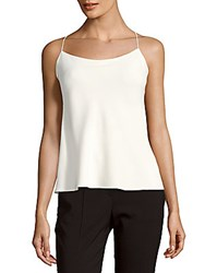 Theory Solid Squareneck Camisole Ivory