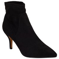 John Lewis Olivia Pull On Stiletto Ankle Boots Black
