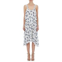 Derek Lam 10 Crosby Women's Floral Fil Coupe Dress Light Blue