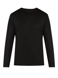 Mover Long Sleeved Merino Wool Base Layer Top Black