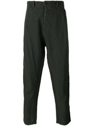 Transit Tapered Trousers Green
