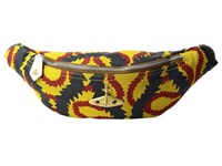 Vivienne Westwood Africa Squiggle Bum Bag Yellow Red Blue