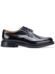 Church's Shannon Derbies Calf Leather Leather 10.5 Black