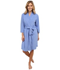 Jockey Vintage Terry Robe Iris Blue Women's Robe Multi