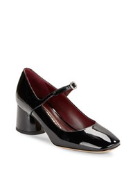 Marc Jacobs Nicole Mary Jane Patent Leather Pumps Black