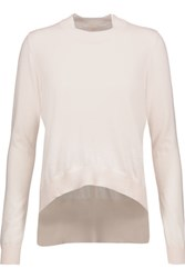 Adam By Adam Lippes Cotton And Cashmere Blend Sweater Beige