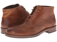 Wolverine Wesley Wingtip Chukka Tan Men's Lace Up Boots