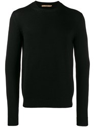 Nuur Ribbed Sweatshirt Black