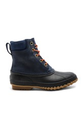 Sorel Cheyanne Lace Full Grain Navy