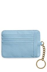 Bp. Faux Leather Card Case Blue