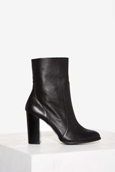 Clash City Rocker Leather Boot Black