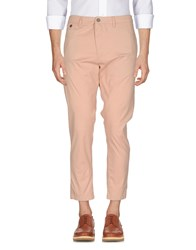 Solid Casual Pants Skin Color