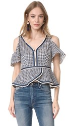 Nanette Lepore High Seas Top Chambray