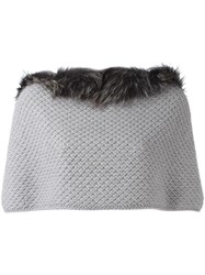 Fabiana Filippi Short Cape Grey