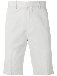 Vince Relaxed Bermudas Men Cotton Linen Flax 32 Nude Neutrals