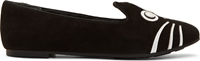 Marc By Marc Jacobs Black Nubuck Cat Loafers