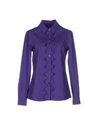 Moschino Cheap And Chic Moschino Cheapandchic Shirts Shirts Women Purple