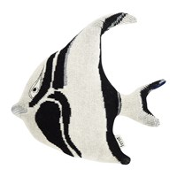 Ferm Living Fruiticana Knitted Cushion Stripy Fish