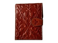 Patricia Nash Passport Case Florence Tooled Wallet Red