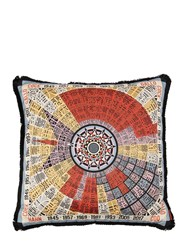 Missoni Rooster Horoscope Cotton Pillow Multicolor