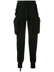 Unravel Project Cargo Track Pants Black