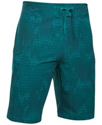Under Armour Men's Storm Printed Stretch Boardshorts Teal