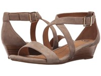 Sofft Innis Baywater King Suede Women's Wedge Shoes Beige
