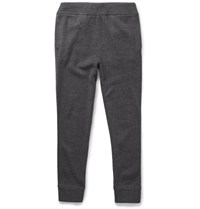 Theory Preston Tapered Merino Wool Blend Sweatpants Gray
