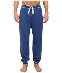 Original Penguin Cuffed French Terry Pant True Blue Men's Pajama