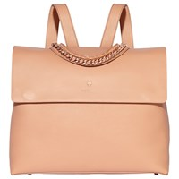 Modalu Olivia Leather Backpack Dusky Pink