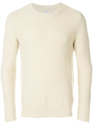 Gant Rugger Pineapple Knit Jumper Nude And Neutrals