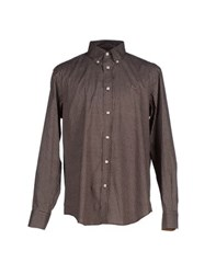 Harmontandblaine Shirts Shirts Men Dark Brown