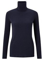 Harris Wilson Roccoco Roll Neck Jumper Marine