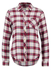 Abercrombie And Fitch Xmas Shirt White Red