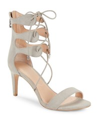 Charles By Charles David Zone Strappy Mid Heel Sandals Cloud