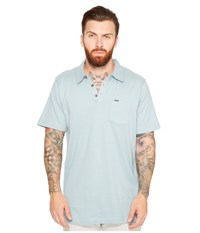 Rip Curl Murf Polo Aqua Men's Clothing Blue