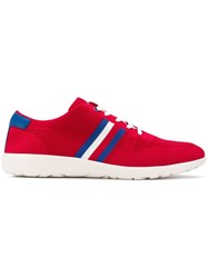 Tommy Hilfiger Knit Sneakers Red
