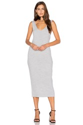 Finders Keepers Prime Time Maxi Dress Grey
