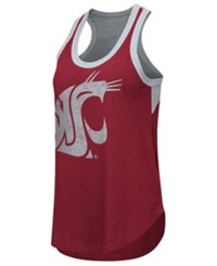 G3 Sports Women's Washington State Cougars Power Alley Tank Red