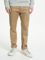 Samsoe And Samsoe Brady Stretch Chino Trousers Olive Night