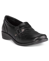Easy Street Shoes Giver Flats Women's Black