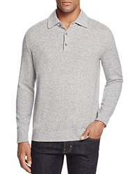 Bloomingdale's The Men's Store At Wool And Cashmere Blend Sweater Silver Grey