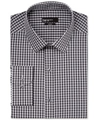 Bar Iii Black And White Checked Dress Shirt Only At Macy's