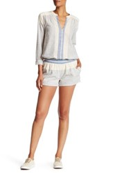 Soft Joie Ava Striped Short Blue
