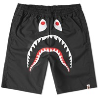 A Bathing Ape Shark Beach Short Black