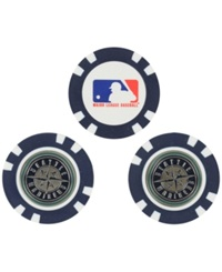 Team Golf Seattle Mariners 3 Pack Poker Chip Golf Markers Navy