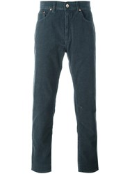 Bellerose Straight Leg Corduroy Trousers Grey