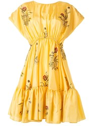 Romance Was Born Queens Hamlet Embroidered Flared Dress 60