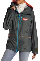 Helly Hansen Aurora Shell Jacket Gray