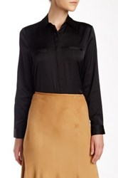 Insight Long Sleeve Blouse Black